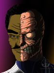 Two-Face by CemeteryHillArt