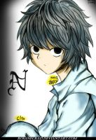 Death Note Near by Rosanegra12
