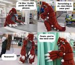 Groudon Invades JoAnn by CanineHybrid