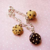 mufin cookie donut bracelet by lemon-lovely