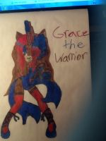 Grace the warrior by emerswell