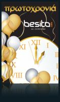 besito_cafe_new_year_poster by livya