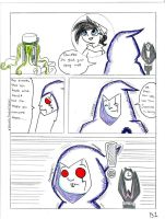 Danny Phantom comic page 1 by Dolltwins