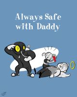 Always Safe with Daddy by tinamin1