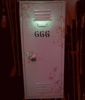 666 Locker of the Beast by Beautelle
