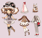 Paper Doll Adopt 3 (closed) by SilverChaim