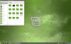 Desktop 081003 - Linux Mint 5 by Zwopper