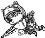 Teemo Tablet Drawing by KimikoRei07