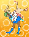 Sailor Scouts June and February [commission] by FicusArt