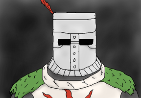 Dark Souls wallpaper, Solaire by TheSpiderAdventurer