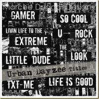 Urban Word Art by duggar
