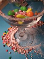 candy martini. by anchorbythesea
