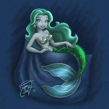 Pocket Mermaid by enigmawing