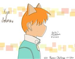 23-Cat-Kyo Sohma by SmileMandalore