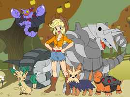 Applejack's Pokemon Team