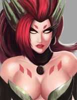 Zyra - League of Legends by 93Hotaru