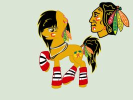 Blackhawks Ponyyy by xXxFleuryxXx