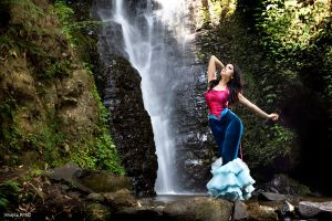 Waterfall Dancer 02 by widjita