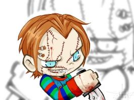 Chucky by ereptor by Horror-Forever