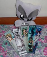Fella Loves bookmarks by AngelLale87