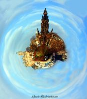 Mini Planet - Edinburgh by printsILike