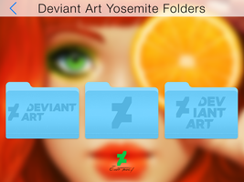 Deviant Art Yosemite Folders by TraceDesign