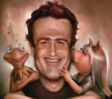 Jason Segel by KaceySchwartz