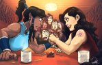 KORRA AND ASAMI ARE CANON!! by peach-mork