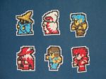 final fantasy magnets by eevilkat