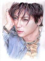 Gackt.denim.pencil by Bitterkawaii