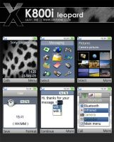 Mac OSX Leopard for Sony K800 by lukevink