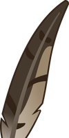 FiM Style Harrier Feather by Mortris