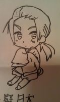 Chibi China -Not Colored- by ZeAwesomePrussia11