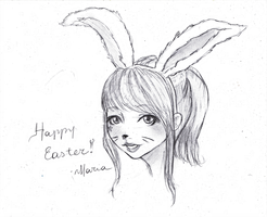 Happy Easter by lunalove2