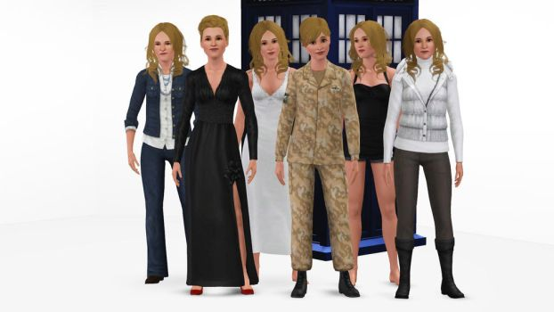 The Sims 3 - Doctor Who - River Song by exangel42