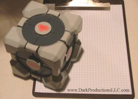 Companion Cube V 3.0 by Clockwork-atrocity