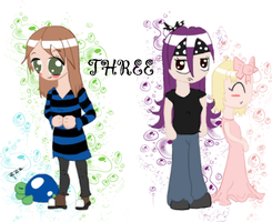 :THREE-Charasheet Redone: by shylittleghost