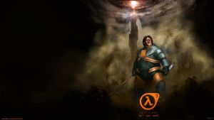 Gabe Newell Half Life 3 Wallpaper Right by DarrenGeers