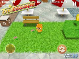 Zoo Escape 3D iOS Game by Sakis25