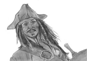 Jack Sparrow smile 2006 by elodie50a