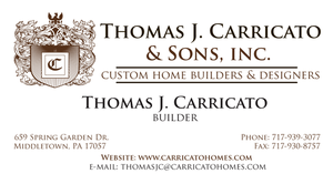 Carricato Business Cards by dragonorion