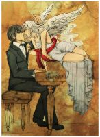 Music is My Love :sketch: by Qinni