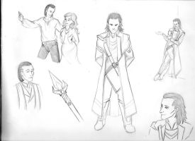 Avengers RP: Loki and Cherry by SilverGryphon8