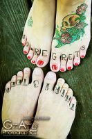 Inked Feet by The-Twitchblade