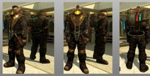 My Subject Delta costume on ps home by Subject--Delta