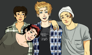 Hello There 5sos Group by lazy-tongue