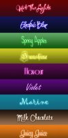 Neon Text Styles by Sweety-Muffin + Fonts by Sweety-Muffin