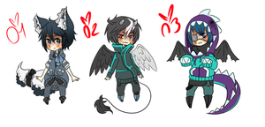 AND MORE ADOPTS (CLOSED) by Manekineko--chan