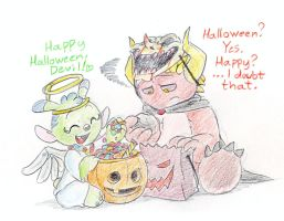 So, Halloween is over.... by Mickeymonster