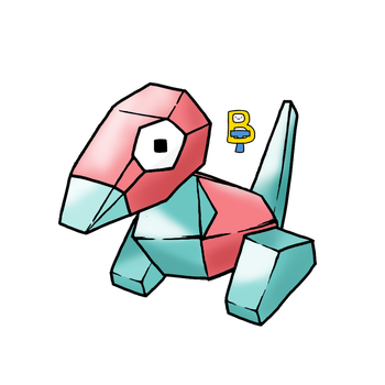Porygon by BattleTeo